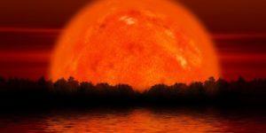 РЕДКОЕ и МОЩНОЕ ПОЛНОЕ Затмение Луны + красное СуперЛуние!!!